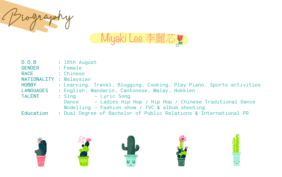 miyaki lee biography