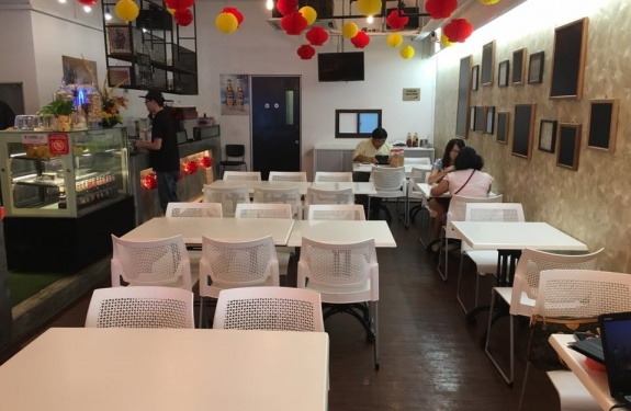 laboratory cafe