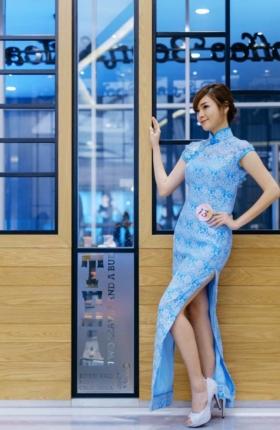 miyaki lee 李丽芯 blogger Malaysia model chipao chengsam